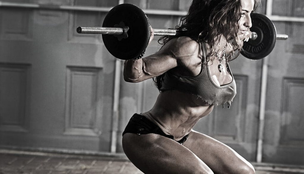 women-fitness-gym-weights-wallpaper-preview